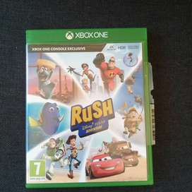 "XBOX 1 GAME "" RUSH DISNEY PIXAR ADVENTURE"""