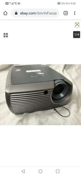 Infocus digital business and entertainment projector