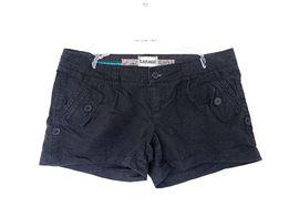 krótkie spodenki szorty shorty czarne 38 M materiałowe bawełniane blig
