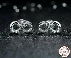 Серьги самоколки серебро 925