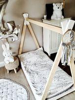 Łóżko Tipi by Woodenheaven 160x80 Malowane Solidne 3 dni wysyłka