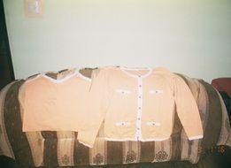 Nowy bliżniak : bluzka na ramiączkach i bluza z długim rękawkiem 36/38