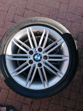 BMW 17 mags with tyres