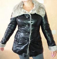 Дублёнка / куртка кожаная