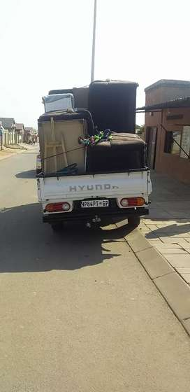 Truck and small bakkie for hire