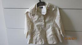 nowy płaszczyk dziewczęcy 86, na 18 m-cy' kurtka płaszcz