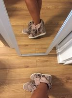 Sneakersy Bródny Róź rozmiar 37