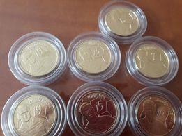 Zamienie numizmaty pilkarzy