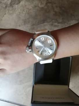 NEW Tom Carter Unisex, White Silicone Strap Watch