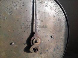 весы Солтерс антикварные Salter's Family Scale