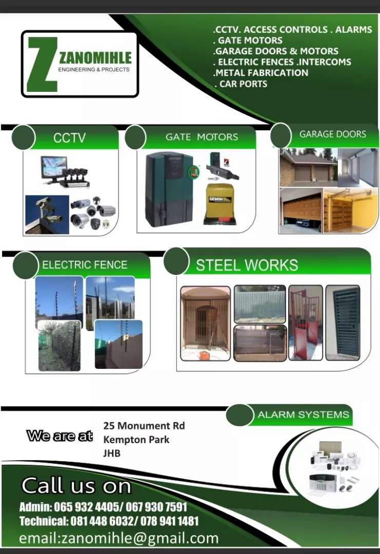 Electronic security and surveillance systems