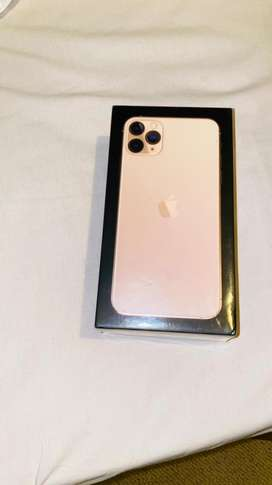 iphone 11 Pro Max 512gb ~ Gold