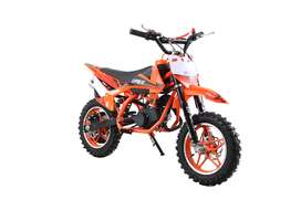 50cc orange dirt bike