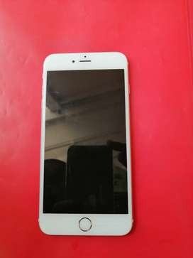 Iphone 6 plus still in a good condition with its original charger