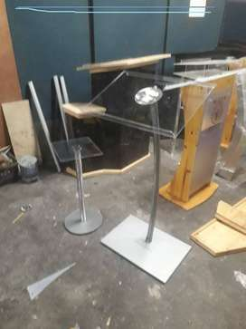 Single Steel Pole Pulpits/ Podiums Bargains Now Available