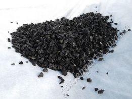 Grys żwirek piasek BAZALTOWY akwarystyczny czarny, bazalt 4-8mm