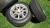 Image of 155/80/R13 tyres and mag