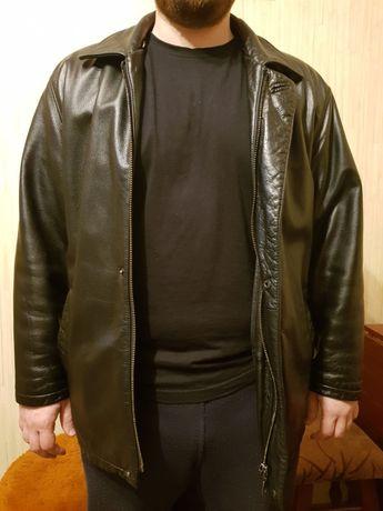 Кожаная куртка-трансформер р.L состояние новой Киев - изображение 3
