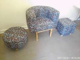 Tub chair/ single seater couch