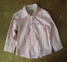 """Рубашка """"Benetton"""" (на 2 годика)"""