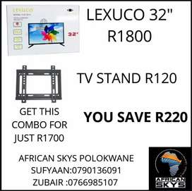 32INCH TV PLUS TV STAND