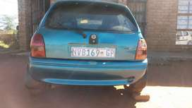 Opel Corsa lite stripping for spare parts