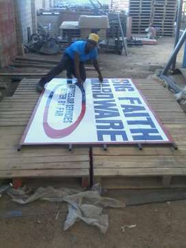 Sign writing services