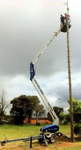 VerticalZA CHERRY PICKER Nifty 140HPE -14m, Portable Trailer Mounted
