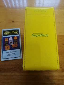 Supa Rule 600 Cable Height Meter - 15M range with case