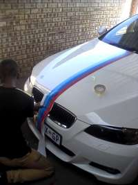 Image of Car Vinyl stripes & Bmw M3 stripes