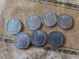 South African R5 coin Presidential inauguration