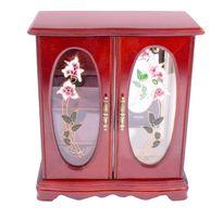шкатулка органайзер шкафчик для украшений деревянный