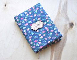 Скетчбук с мягкой обложкой - подарок на 8 марта