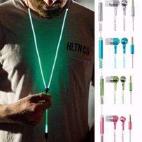 Наушники - Zipper, Светящиеся в Темноте, с микрофоном на молнии