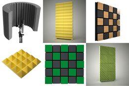 Акустические экраны ячеистый акустический поролон акустические панели