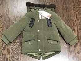 Тёплая куртка Original Marines для мальчика 6/9мес (68/74см)