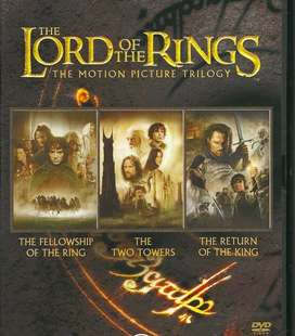Lord of the Rings - DVD trilogy