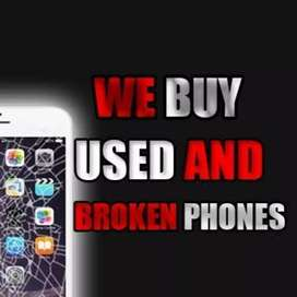 I pay cash for unwanted, damaged or broken iPhone's