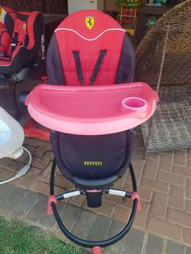 Ferrari eating chair/high chair