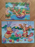 Puzzle Kubuś Puchatek 100 i 35 elem.