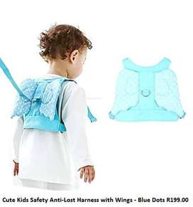 Cute Kids Safety Anti-Lost Harness with Wings