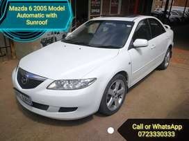 Mazda 6 Automatic with Sunroof