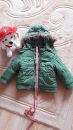 Зимова куртка для хлопчика на 1-1,5роки