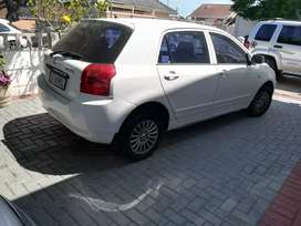 TOYOTA RUNX URGENT SALE 70K NEGOTIABLE!
