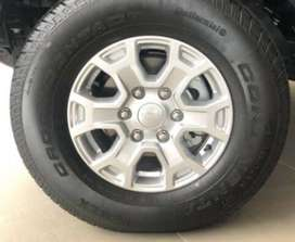 2018 Ford Ranger original rims and tyres for sale
