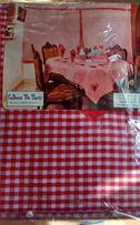 Набор для кухни, новый ( штора, скатерть, 6 салфеток)