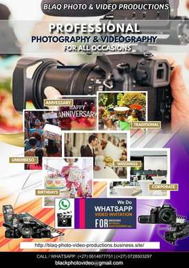 Photography & Videography Productions