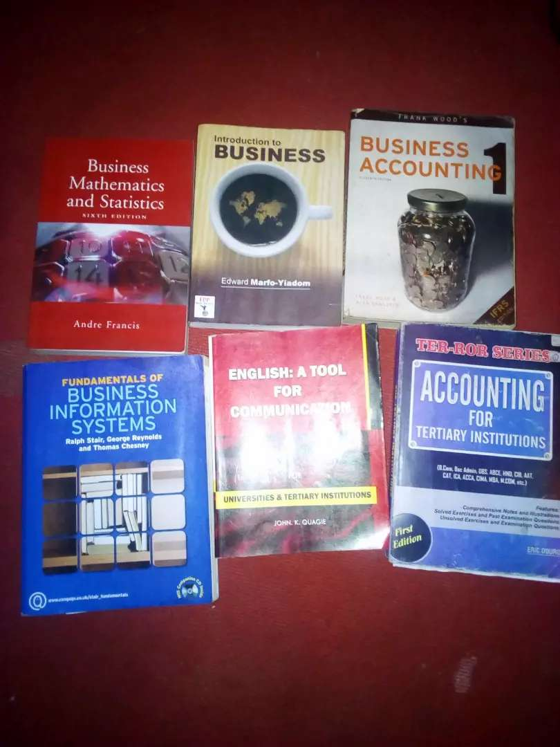 Books for business students 0