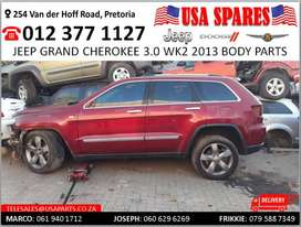 Jeep Grand Cherokee 3.0 WK2 2013 body spares for sale