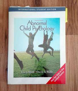 ABNORMAL CHILD PSYCHOLOGY - TEXTBOOK